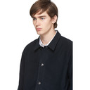 Sunspel Navy Moleskin Twin Pocket Jacket