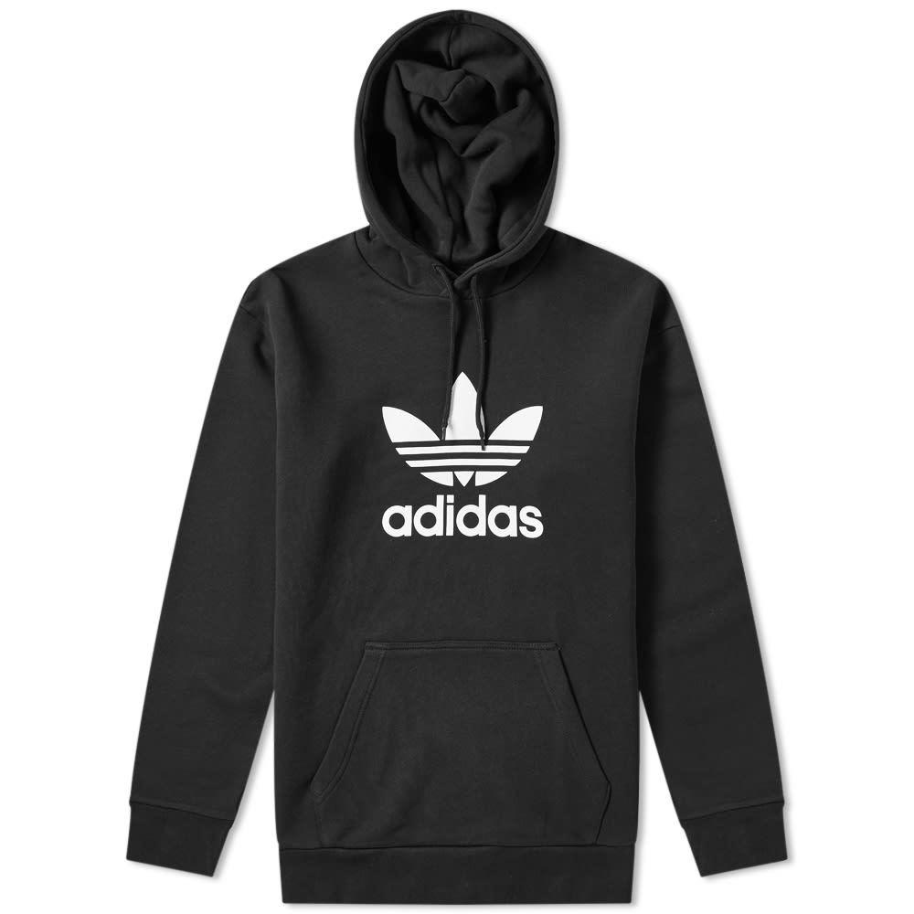 Photo: Adidas Trefoil Popover Hoody Black
