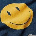 KAPITAL - Printed Indigo-Dyed Cotton-Jersey T-Shirt - Blue