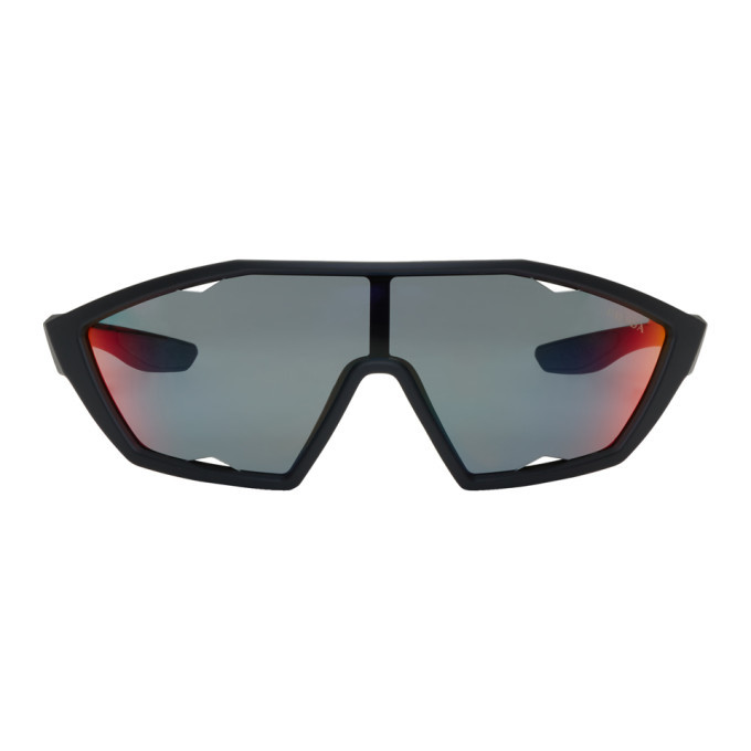 Prada Black Rubberized Sunglasses