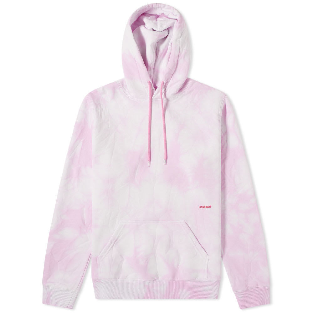 Photo: Soulland Wallance Tie-Dye Logo Hoody