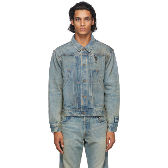 Photo: Reese Cooper Blue Washed Denim Jacket