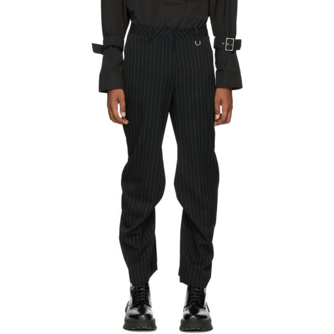Photo: We11done Black Stripe Trousers