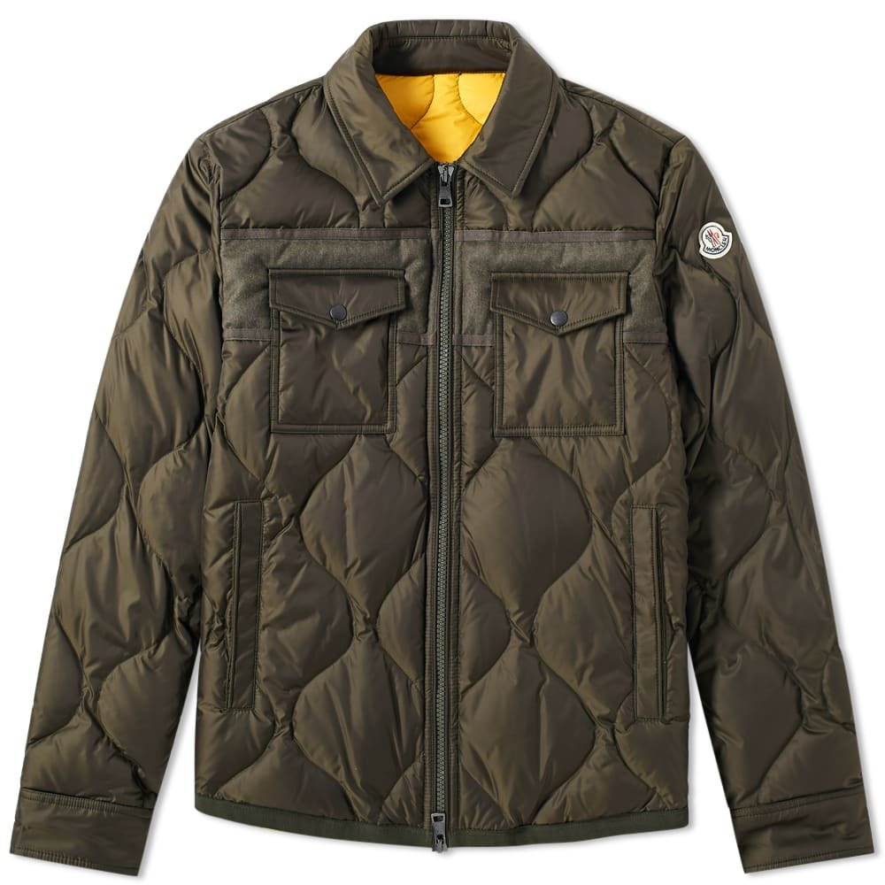 Moncler Stephan Shirt Jacket Green