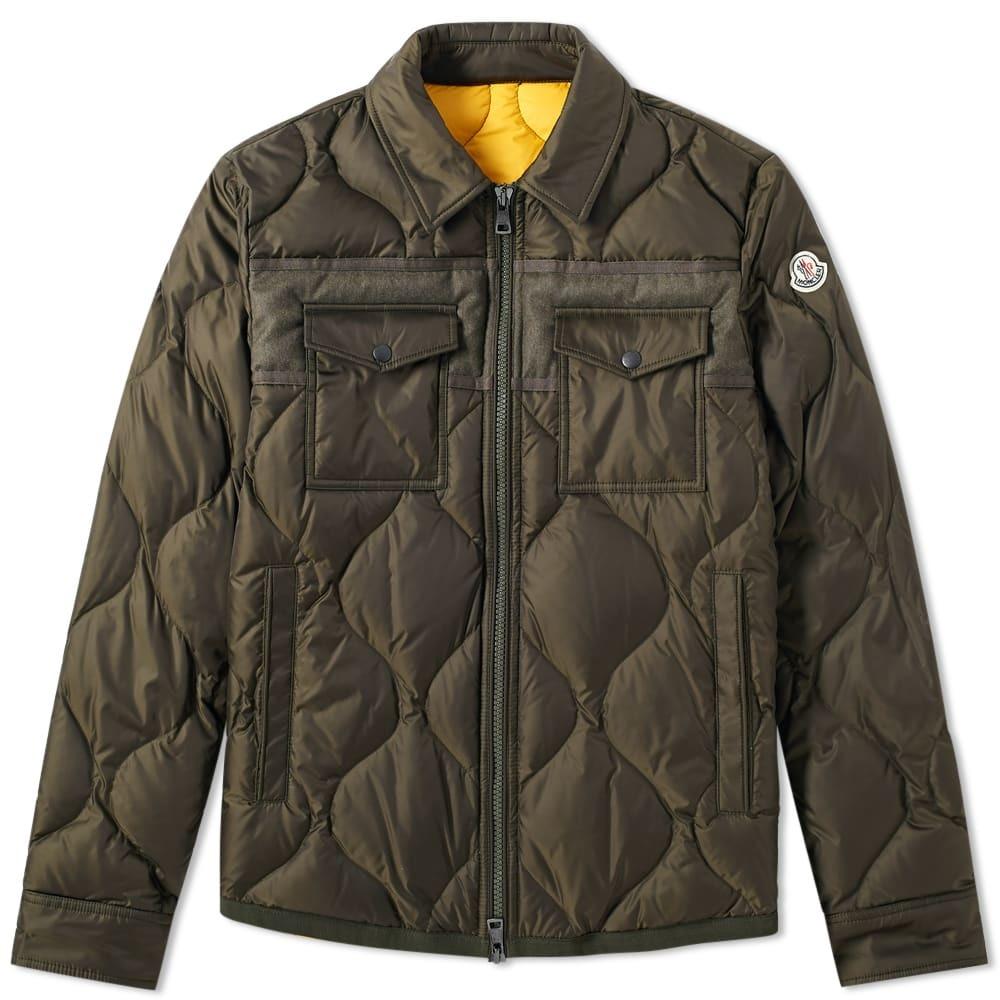 Moncler Stephan Shirt Jacket Green