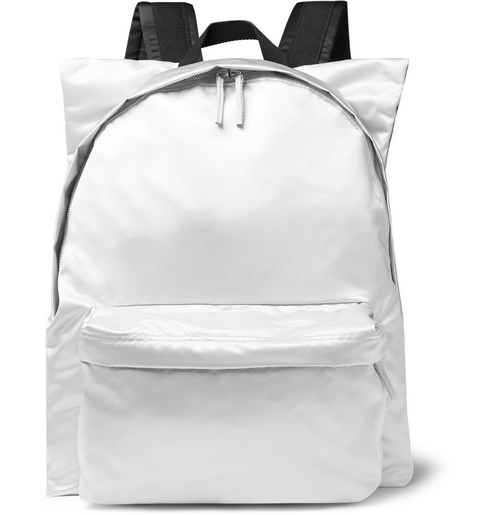 Raf Simons - Eastpak Printed Shell and Cotton-Canvas Backpack - Silver