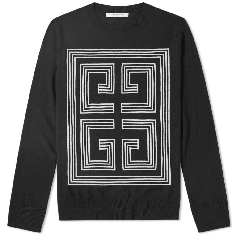 Givenchy Intarsia Knit