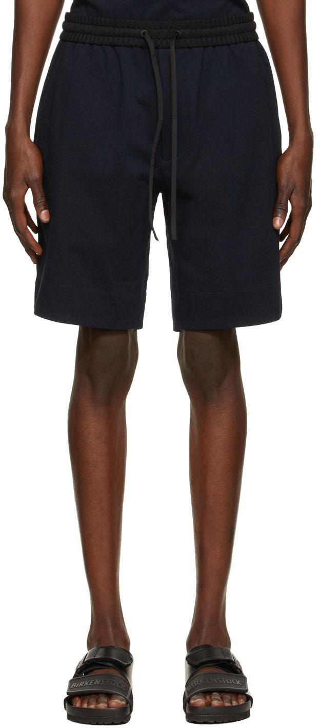 Photo: 3.1 Phillip Lim Navy Jersey Boxer Shorts