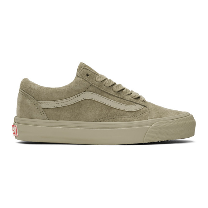 Photo: Vans Taupe OG Old Skool LX Sneakers