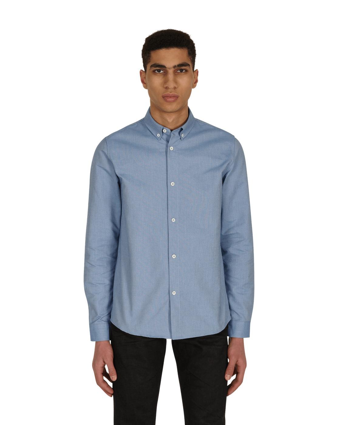 Photo: A.P.C. Button Down Shirt Blue
