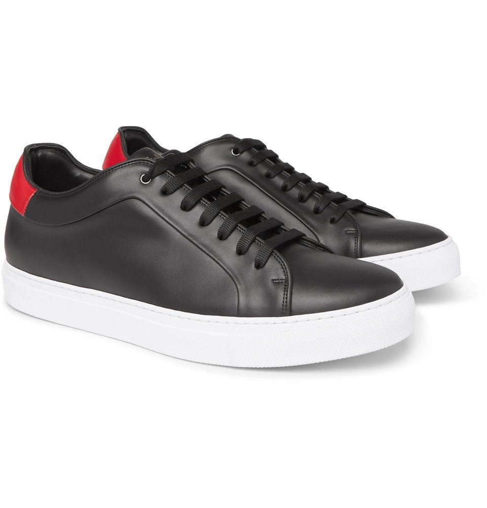 Photo: Paul Smith - Basso Leather Sneakers - Black
