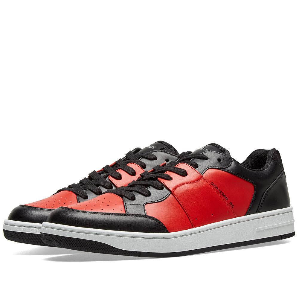 Dior Homme B02 Sneaker Red \u0026 Black Dior