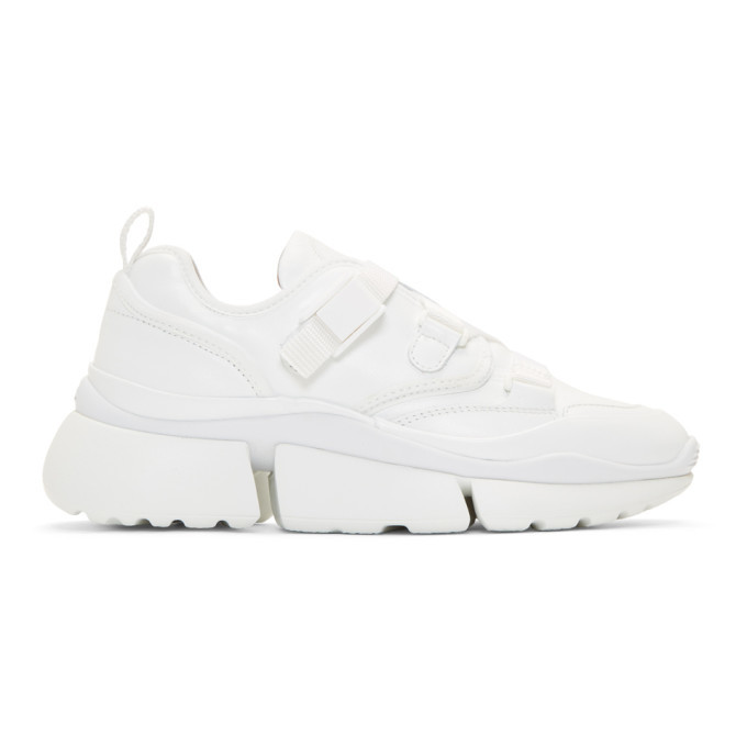 Chloe White Sonnie Sneakers Chloe