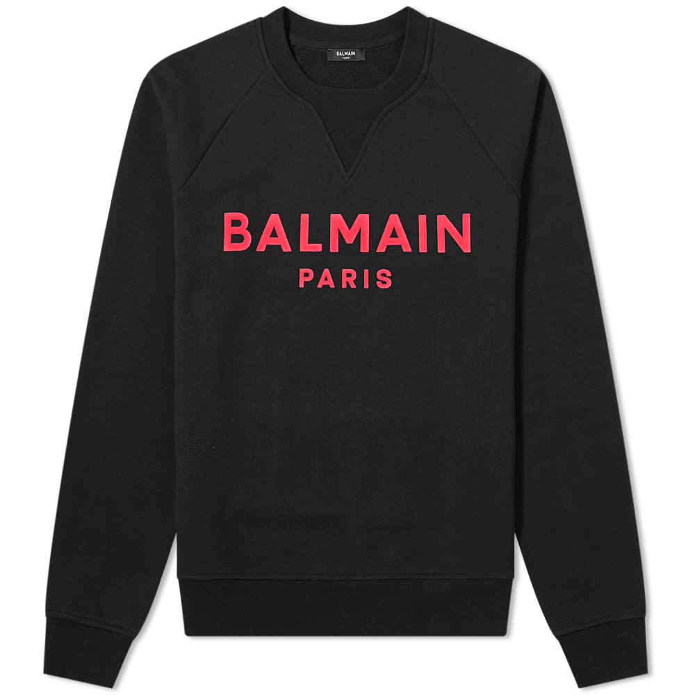 Photo: Balmain Flock Sweatshirt