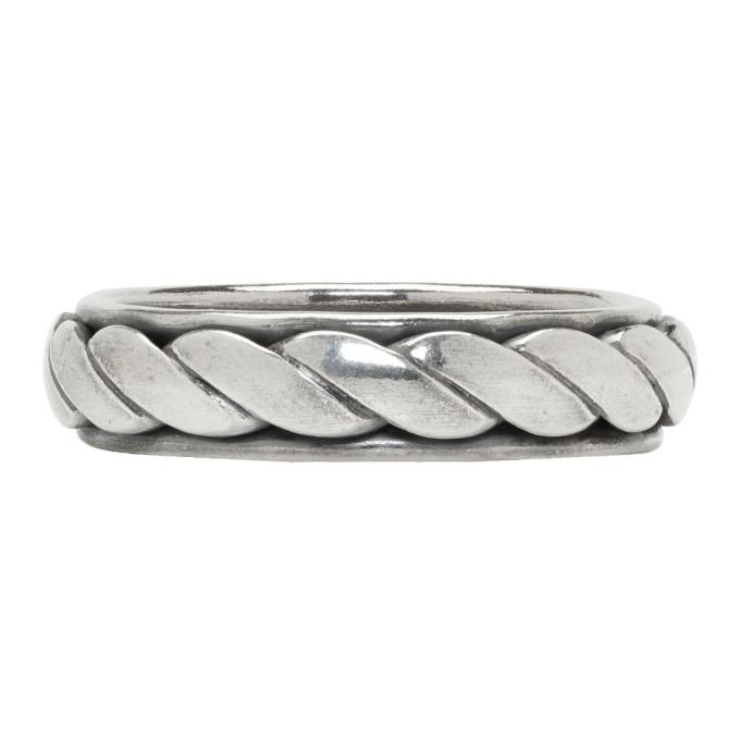 Photo: Ugo Cacciatori Silver Torchon Ring