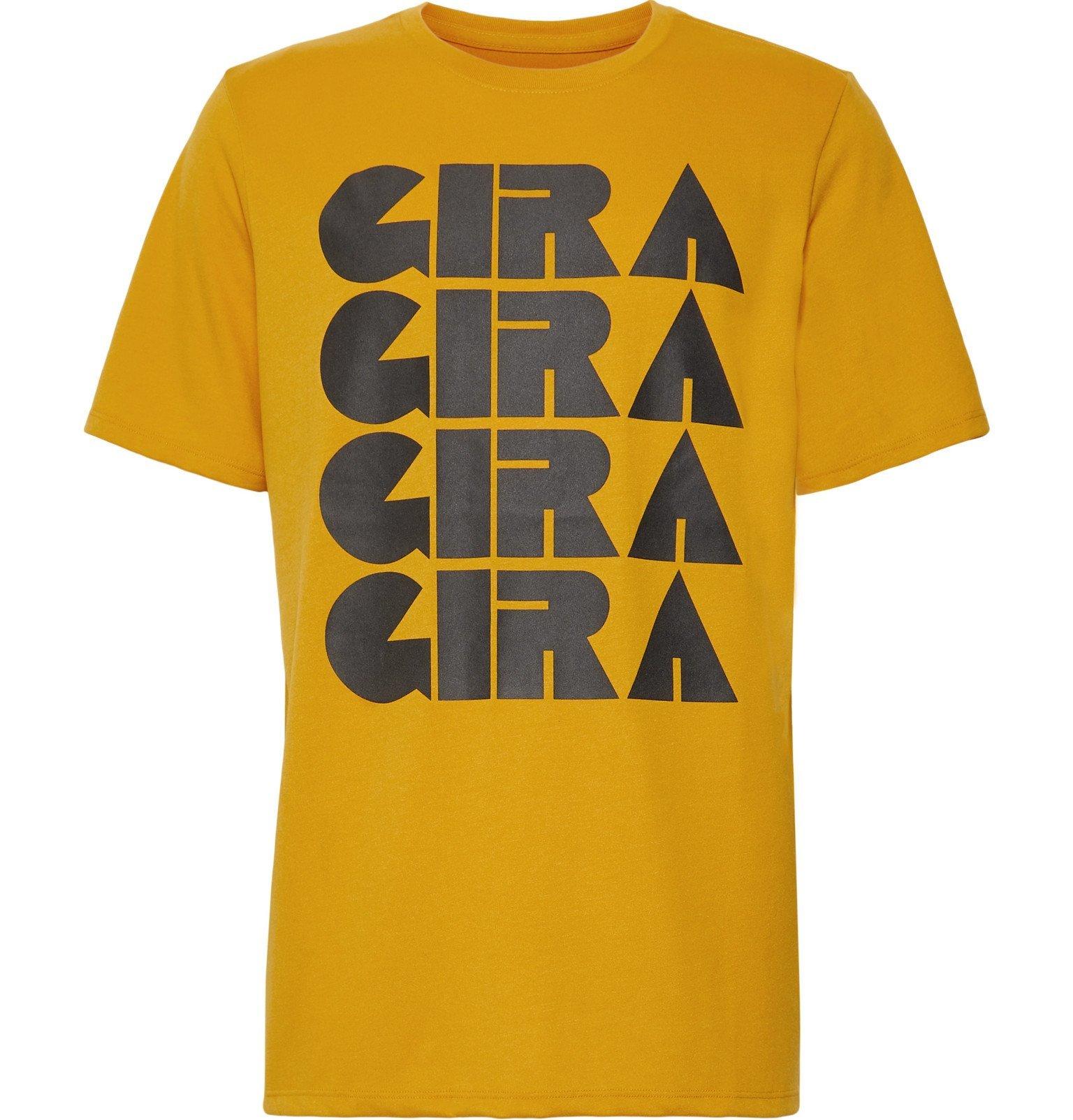 Photo: Nike x Undercover - GYAKUSOU NRG Printed Dri-FIT T-Shirt - Yellow