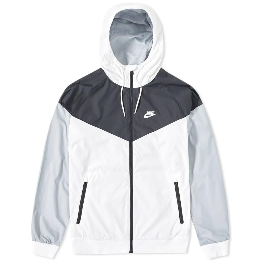 Humanista cine Camión golpeado  Nike Windrunner Jacket White Nike