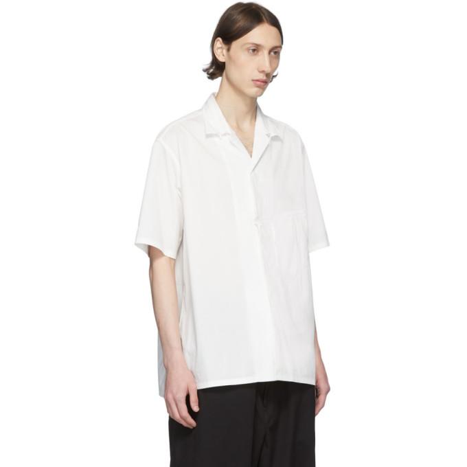 Y-3 White Classic Short Sleeve Shirt