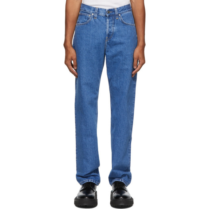 Photo: Helmut Lang Blue Masc Lo Easy Jeans