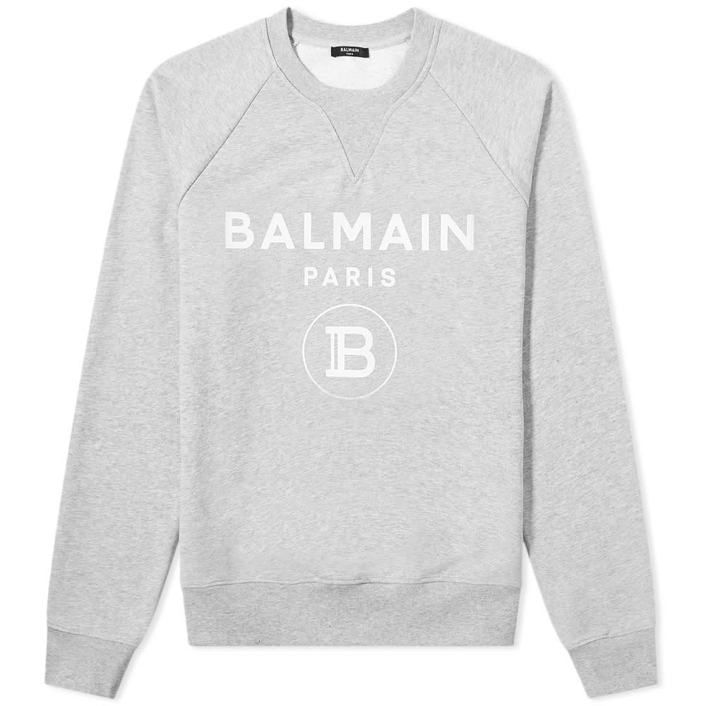 Photo: Balmain Printed Sweatshirt