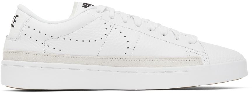 Photo: Nike White Blazer Low X Sneakers