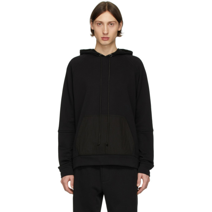 Photo: Isabel Benenato Black Back Zip Detail Hoodie