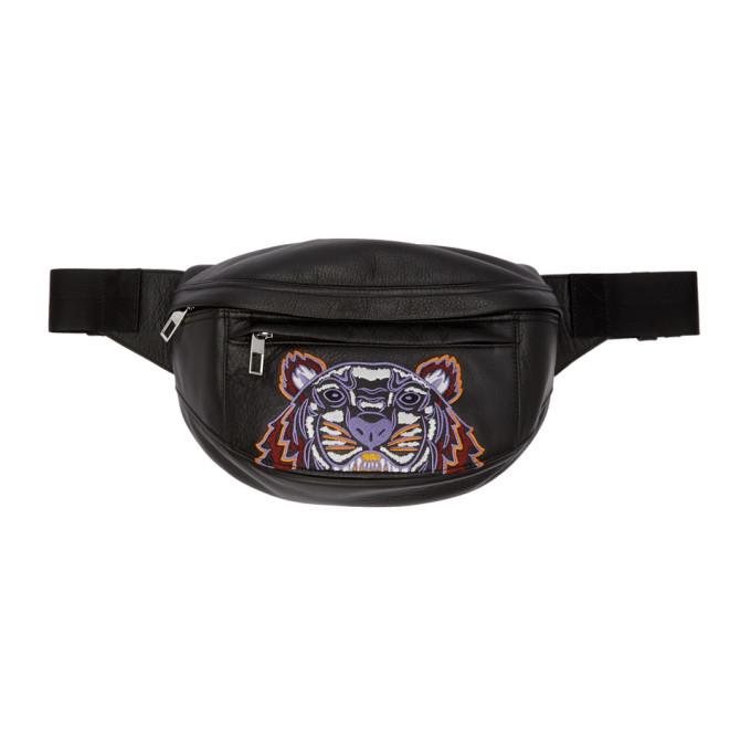 Photo: Kenzo Black Kampus Tiger Belt Bag