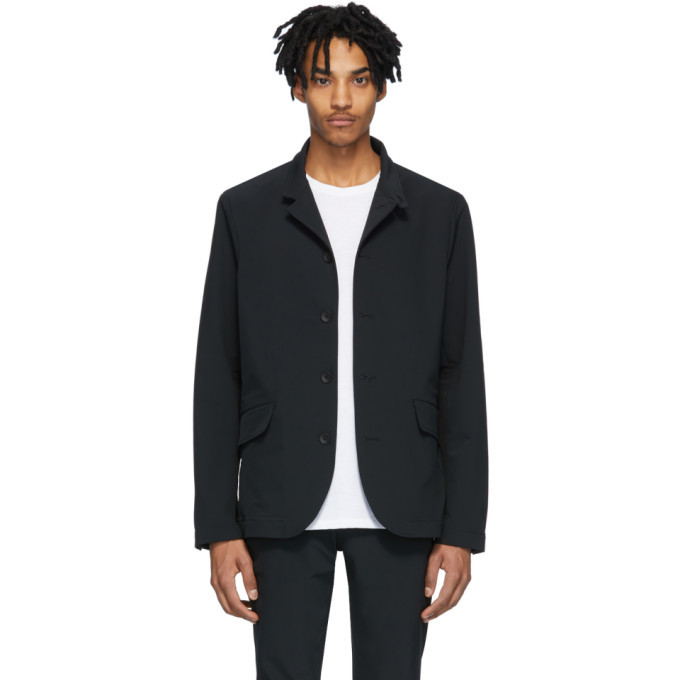 Photo: rag and bone Black Tech Deconstructed Razor Jacket