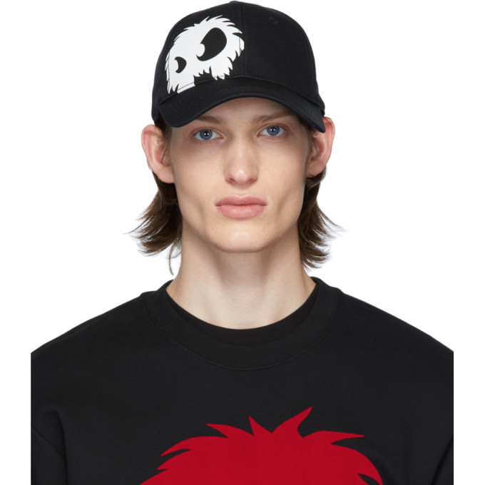 Photo: McQ Alexander McQueen Black and White Monster Cap