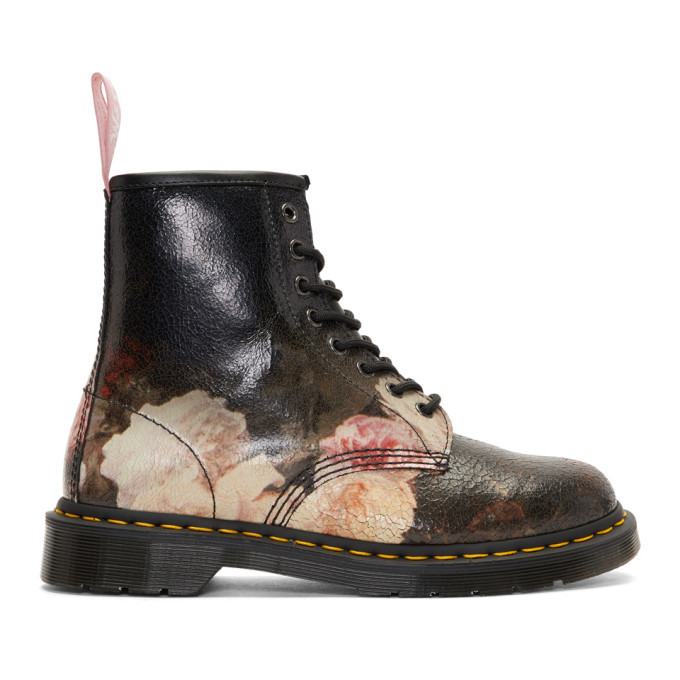 Photo: Dr. Martens Multicolor New Order Power, Corruption and Lies 1460 Boots