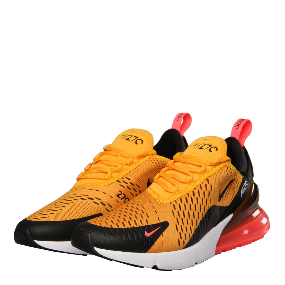 Air Max 270 - Black / University Gold / Hot Punch