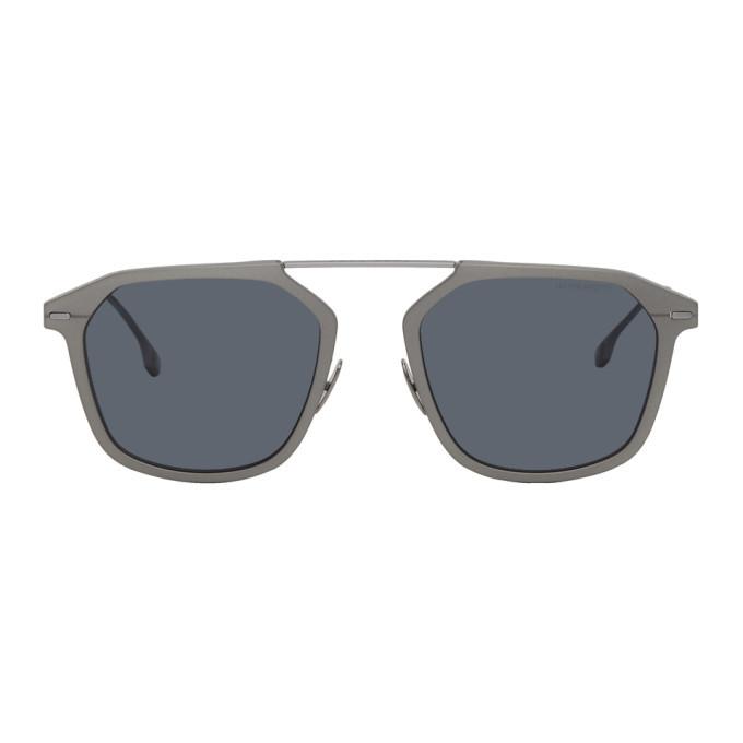 Photo: Boss Grey Ruthenium Sunglasses