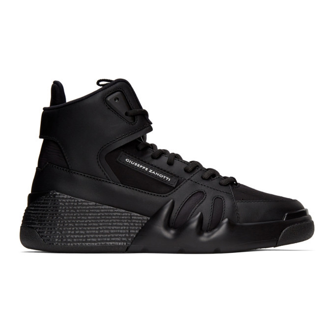 Photo: Giuseppe Zanotti Black Jupiter Talon High Top Sneakers