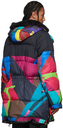 Sacai Multicolor KAWS Edition Parka Jacket