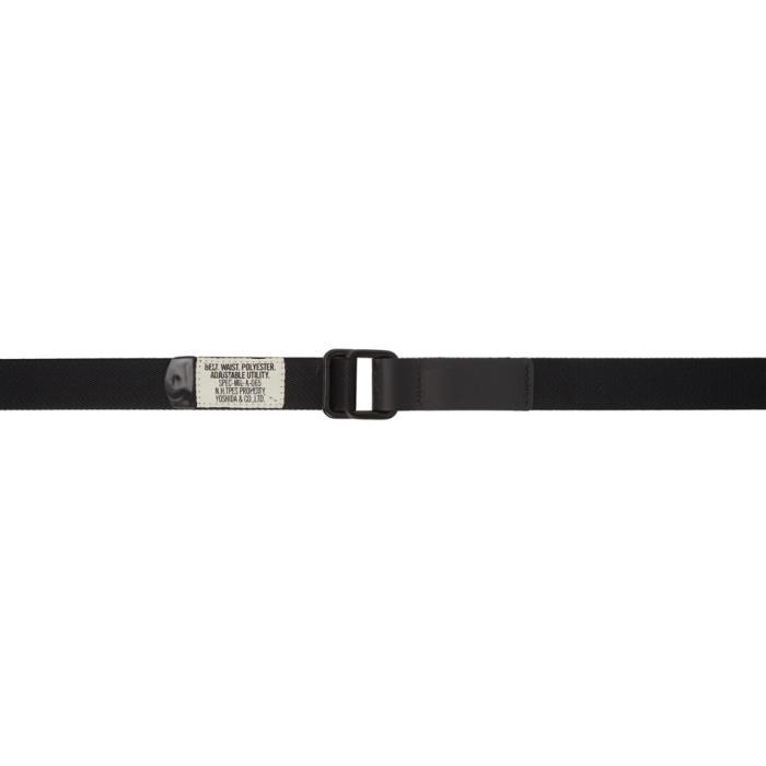 Photo: N.Hoolywood Black Canvas Belt