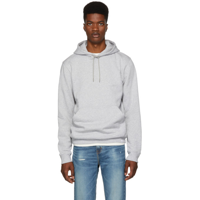 Photo: Norse Projects Grey Vagn Classic Hoodie