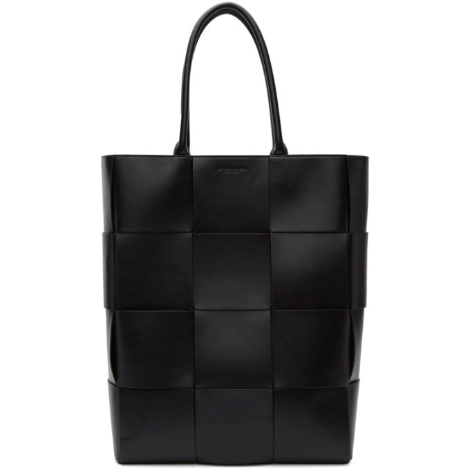 Photo: Bottega Veneta Black Leather Urban Tote