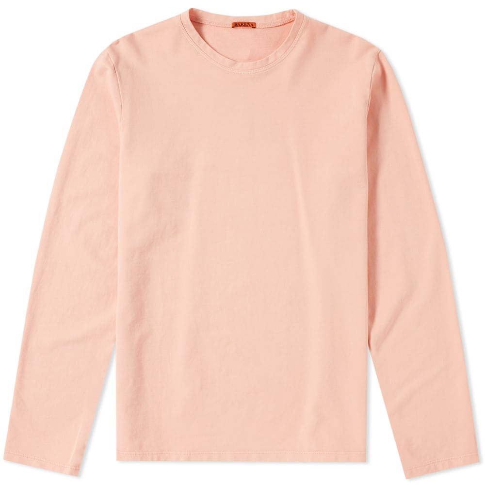 Photo: Barena Luigi Long Sleeve Tee Pink