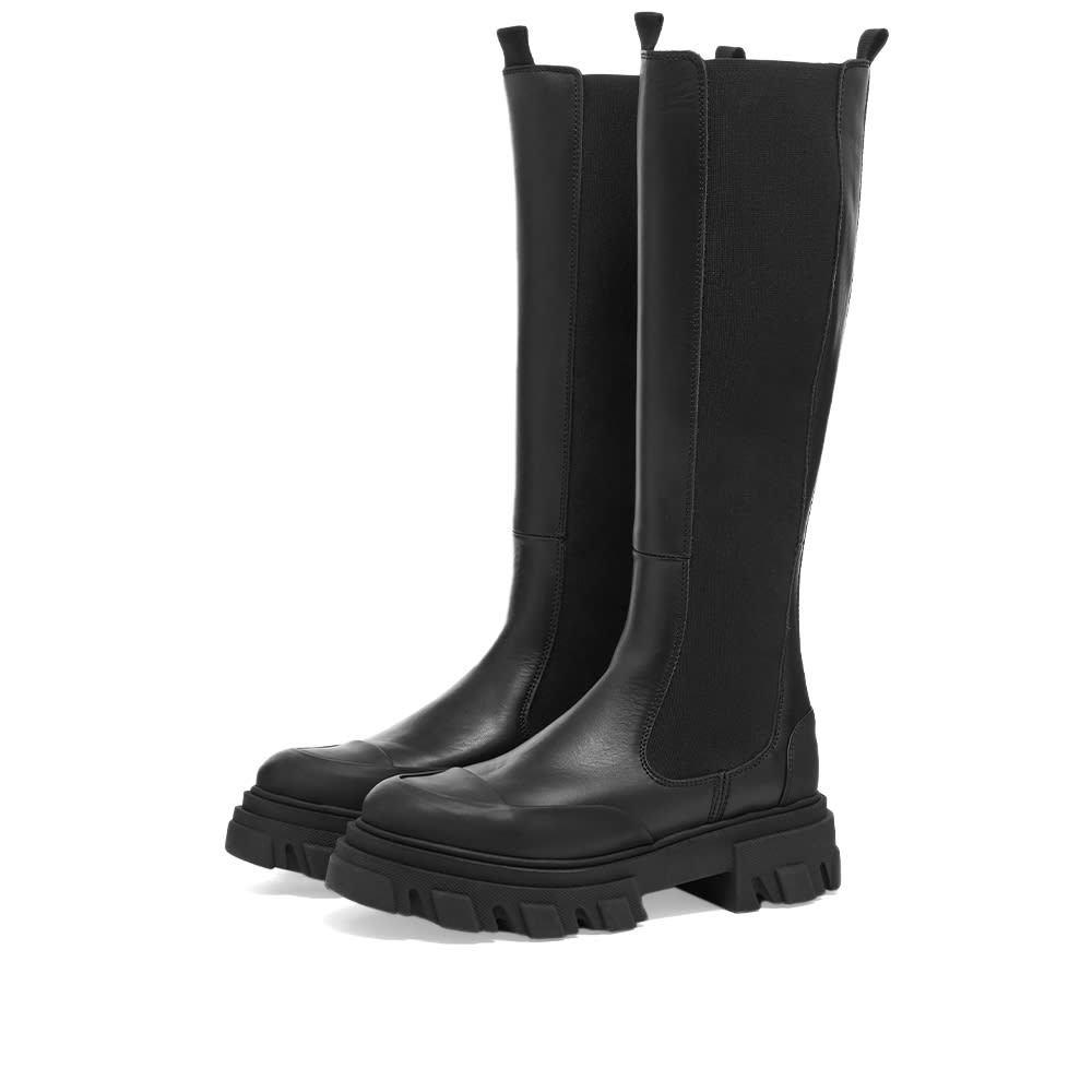 Photo: GANNI High Leg Chelsea Boot