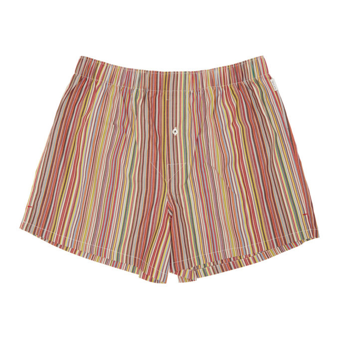 Photo: Paul Smith Multicolor Classic Multistripe Boxers