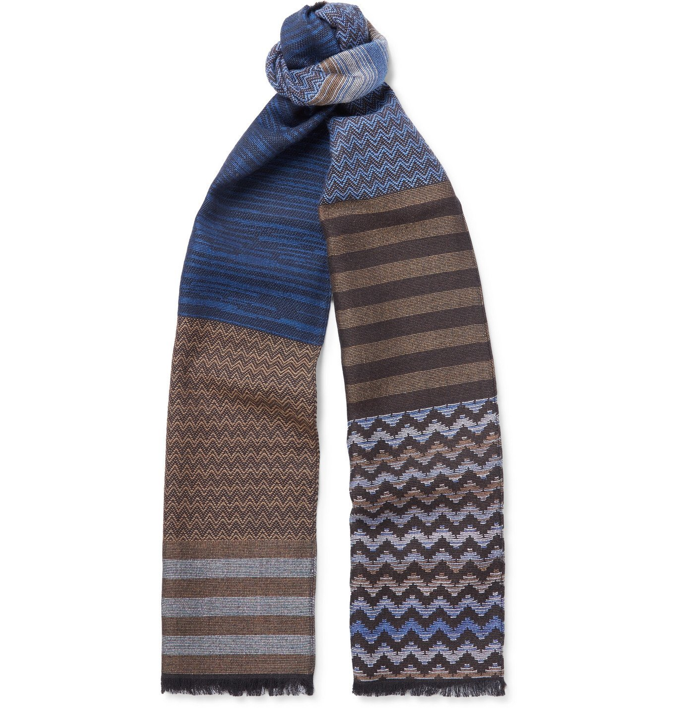 Photo: Missoni - Fringed Wool Scarf - Multi