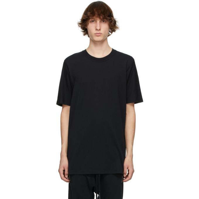 Photo: 11 by Boris Bidjan Saberi Black Basic T-Shirt