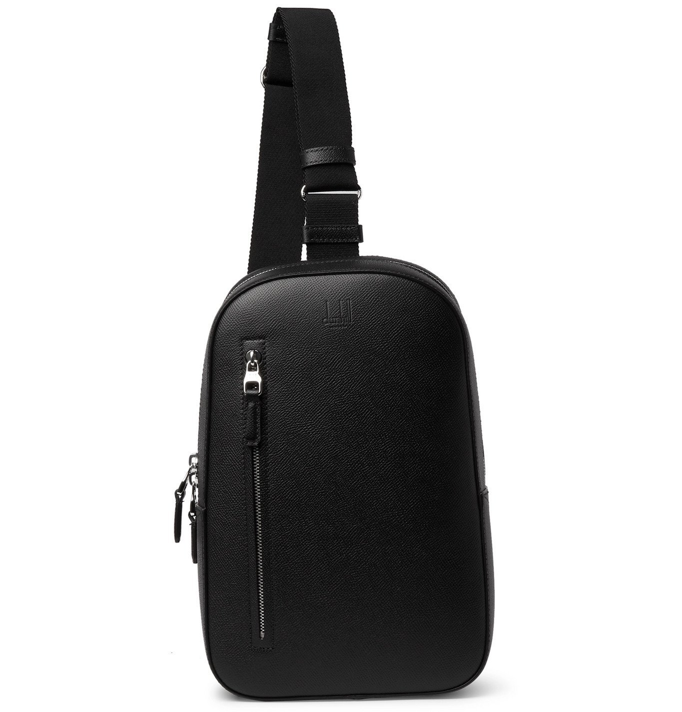 Photo: Dunhill - Cadogan Full-Grain Leather Backpack - Black