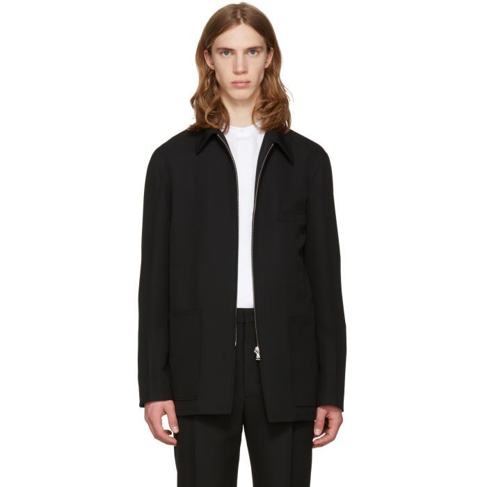 Photo: Lemaire Black Zipped Jacket