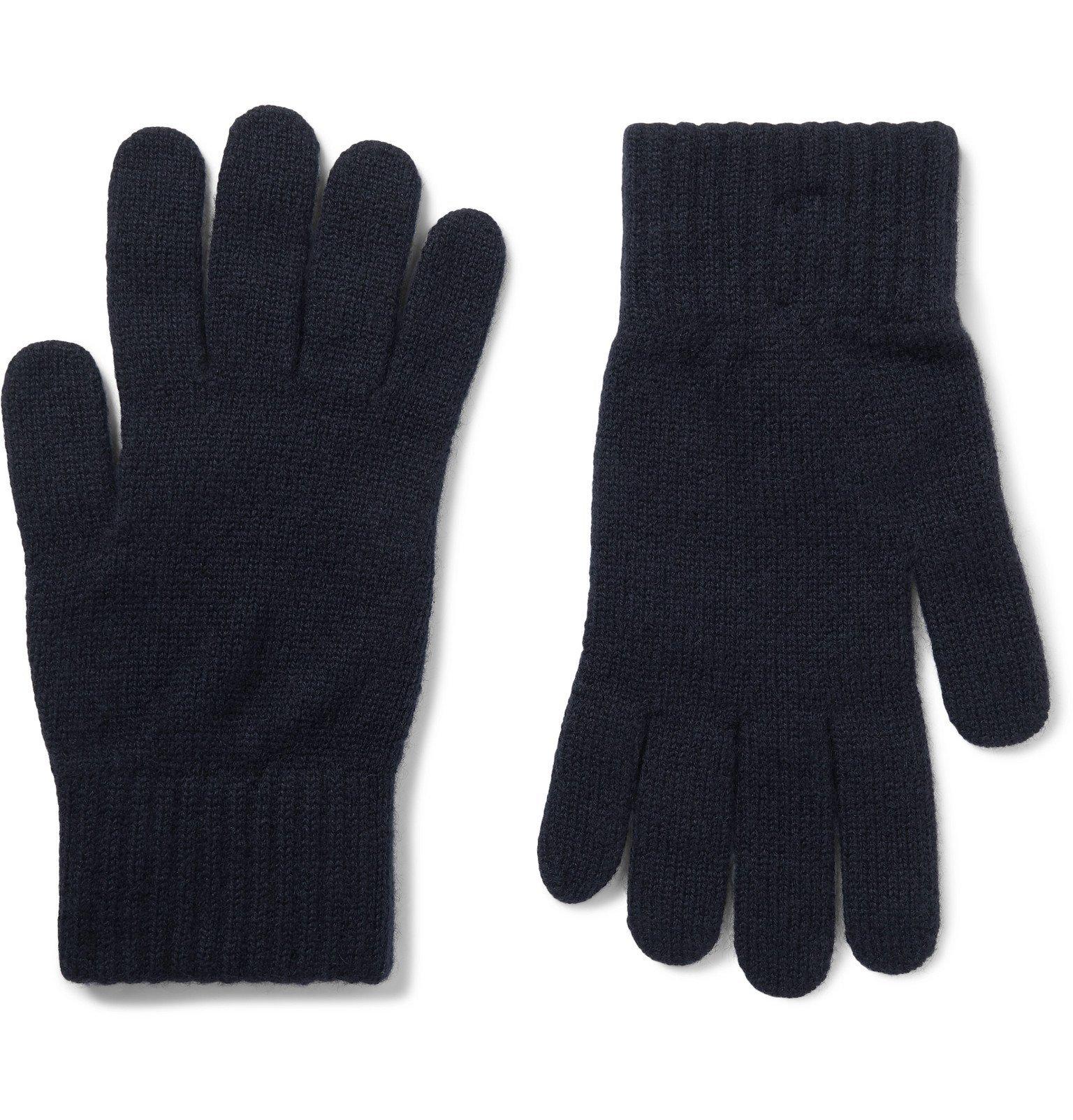 Photo: William Lockie - Cashmere Gloves - Blue