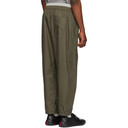 3.1 Phillip Lim Green and Grey Double Track Lounge Pants