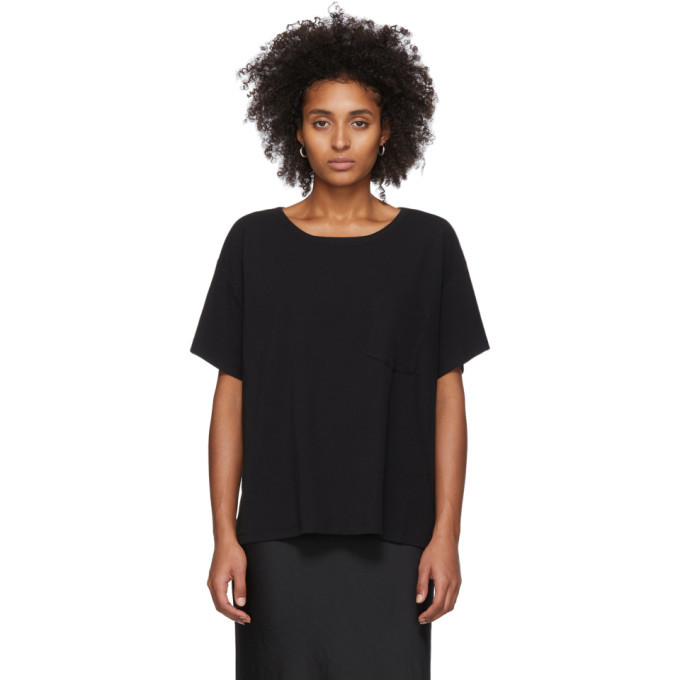 Photo: alexanderwang.t Black Tilted Pocket T-Shirt