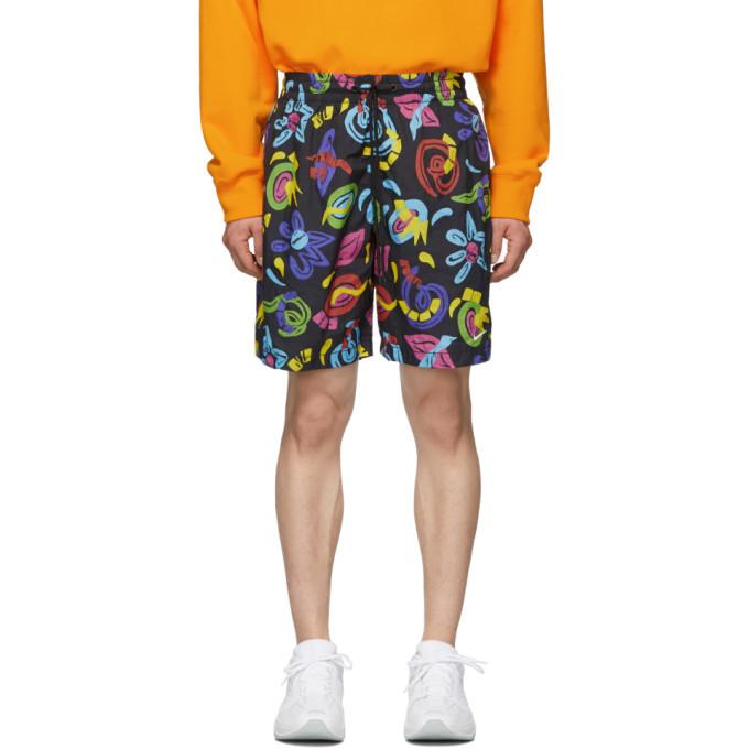 Photo: Nike Black Printed Shorts