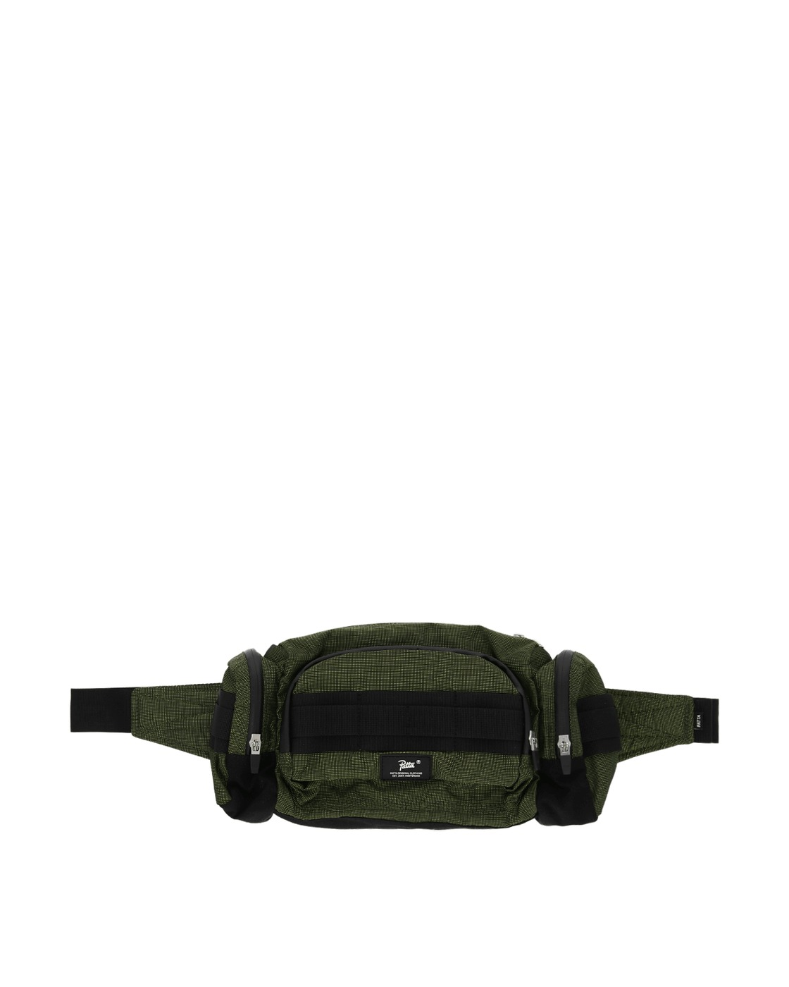 Photo: Patta Hi Vis Tactical Waistbag Black/Safety Yellow