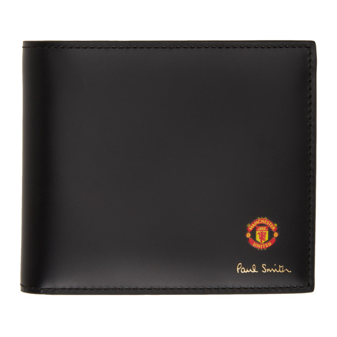 Photo: Paul Smith Black Manchester United Edition Scarves Wallet